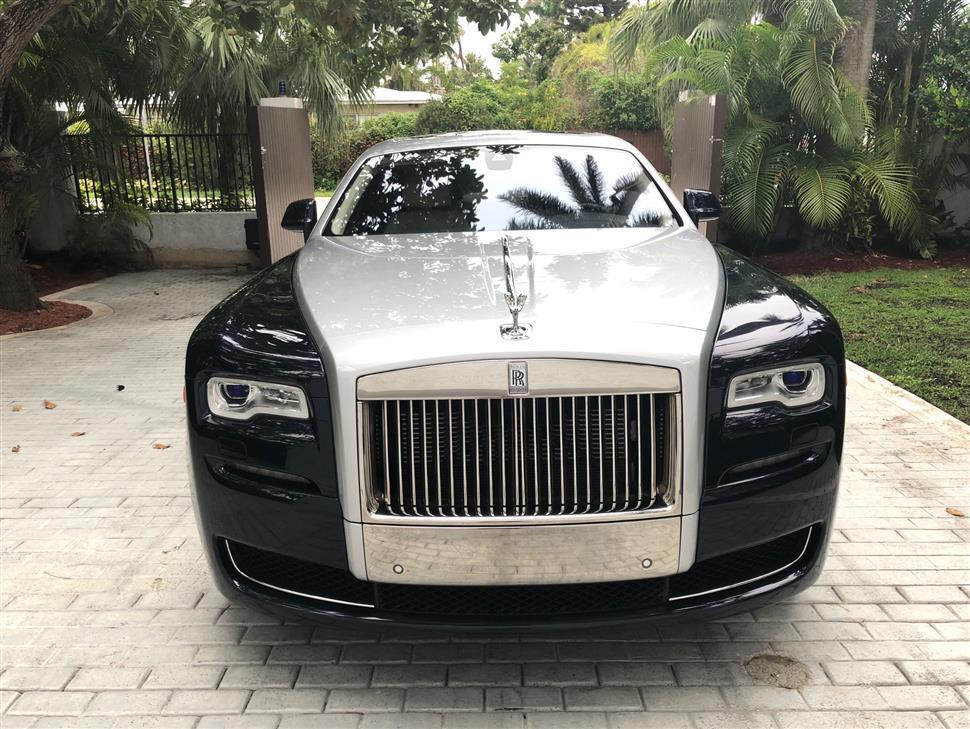 Rolls Royce Ghost Car Lease In Miami Beach